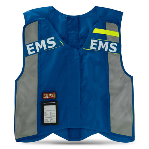 StatPacks G3 ANSI Blue Standard Hi-Visibility Safety Vest - Luminary Global