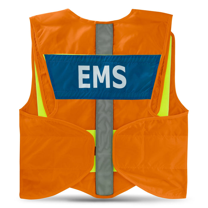 StatPacks G3 ANSI Orange Standard Hi-Visibility Safety Vest - Luminary Global