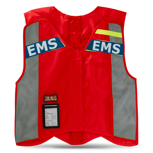 StatPacks G3 ANSI Red Standard Hi-Visibility Safety Vest - Luminary Global