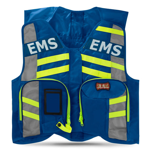StatPacks G3 ANSI Advanced High Visibility Safety Vest Blue