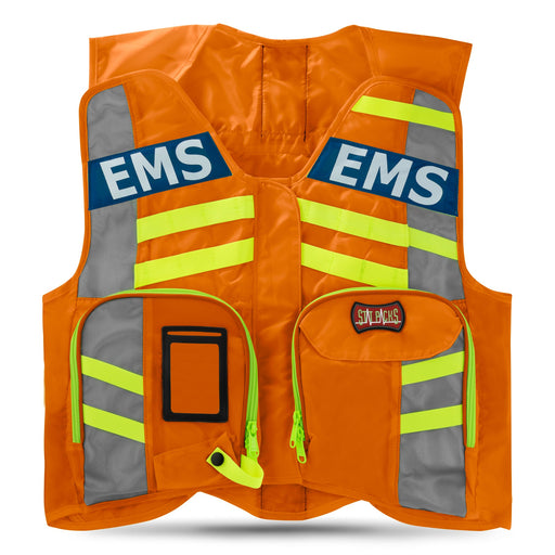G32001OR StatPacks G3 ANSI Advanced High Visibility Safety Vest Orange Luminary