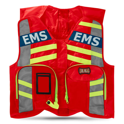StatPacks G3 ANSI Advanced High Visibility Safety Vest Red