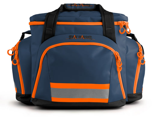 StatPacks G4 Retro Shoulder Pack Blue/Orange - Luminary Global
