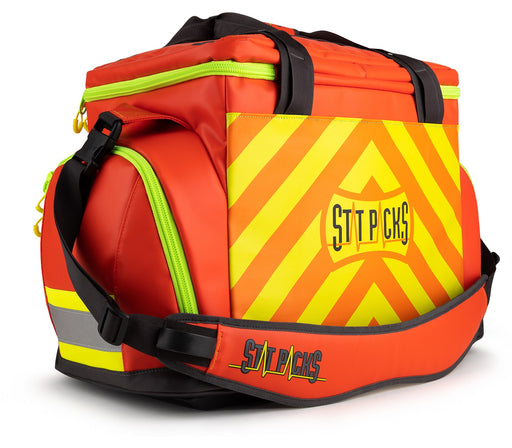 StatPacks G4 Retro Shoulder Pack Red/Yellow - Luminary Global