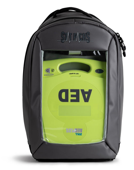 StatPacks G4 ViVo AED O2 Sling Bag - Black Gun Metal Luminary Global