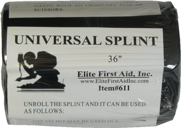 "Universal Splint 36""- 12 Pack - Elite First Aid, Inc."