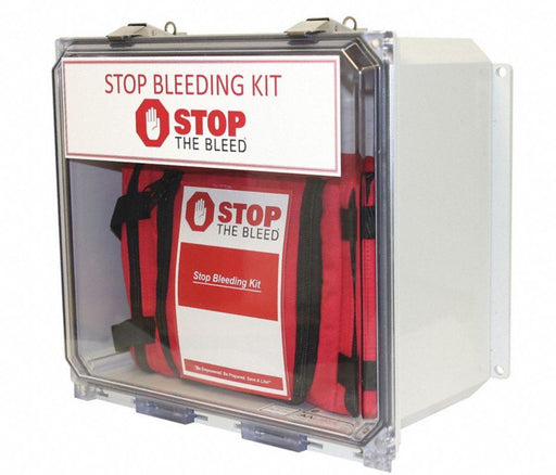 MPSBKCT-5 Wall Mount Public Access Stop the Bleed Kit Station