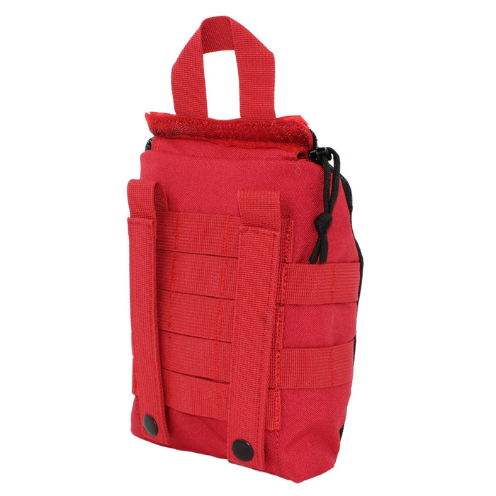 gunshot wound trauma kit police first aid CAT Tourniquet hemorrhage control medical ifak tactical molle bag stocked supplies pouch survival military ems fire rescue edc