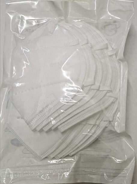 KN95 Packaging Back