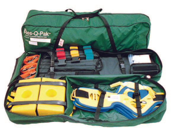 RES-Q-PAK - Spinal Immobilization Equipment Case - R&B Fabrications