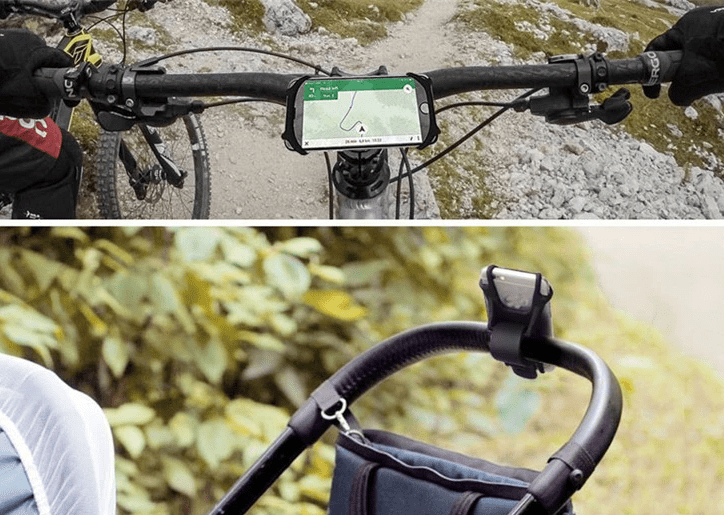 Universal Bike Mount Silicone Phone Holder for iPhone and Android | Universal Bike Phone Holder | Silicone Phone Holder