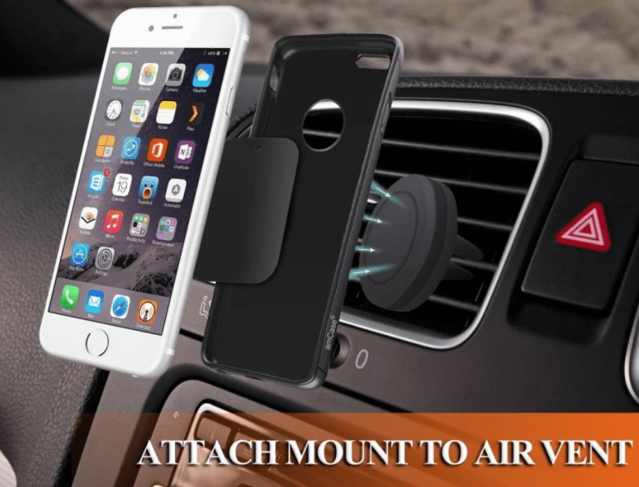 Air Vent Cell Phone Holder  with Magnetic Mounting | Cell Phone Holder | Car Phone Holder