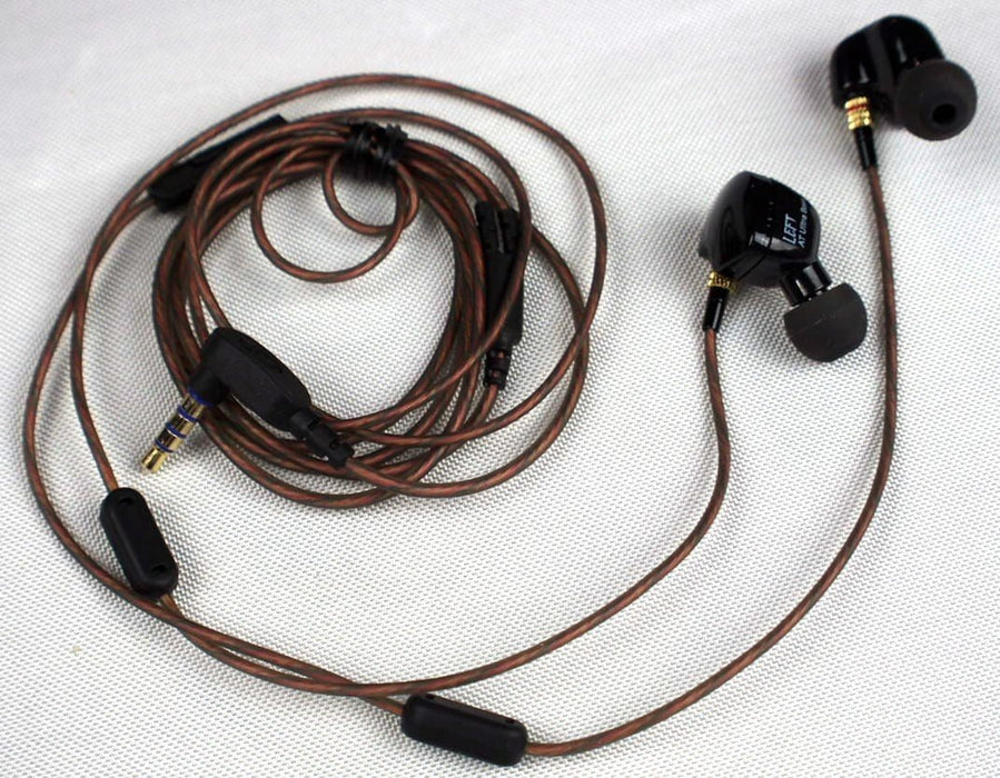 KZ Acoustics ATR Wired Earphones with Microphone Awesome Bass | ATR Wired Earphones | KZ Acoustics Earphones