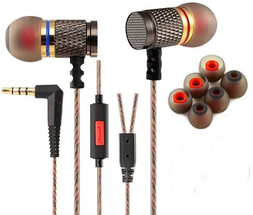 KZ Acoustics EDR1 Wired Earphones with Microphone | EDR1 Wired Earphones | KZ Acoustics Earphones