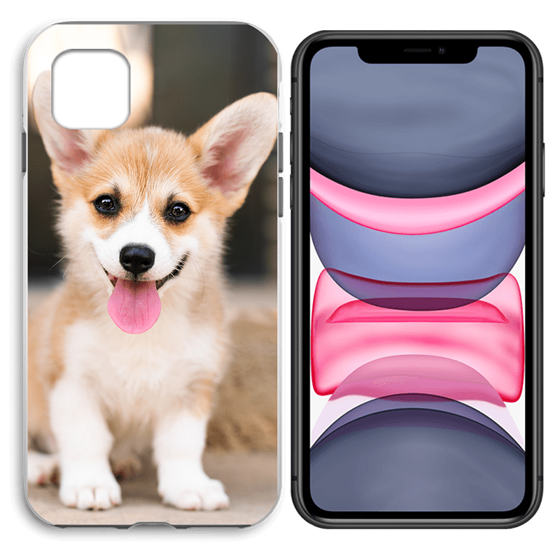 iPhone 11 - Custom Liquid Silicone Hard Case | iPhone 11 Case | iPhone 11 Liquid Case