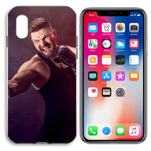 iPhone X - Custom Liquid Silicone Hard Case | iPhone X Case | iPhone X Hard Case