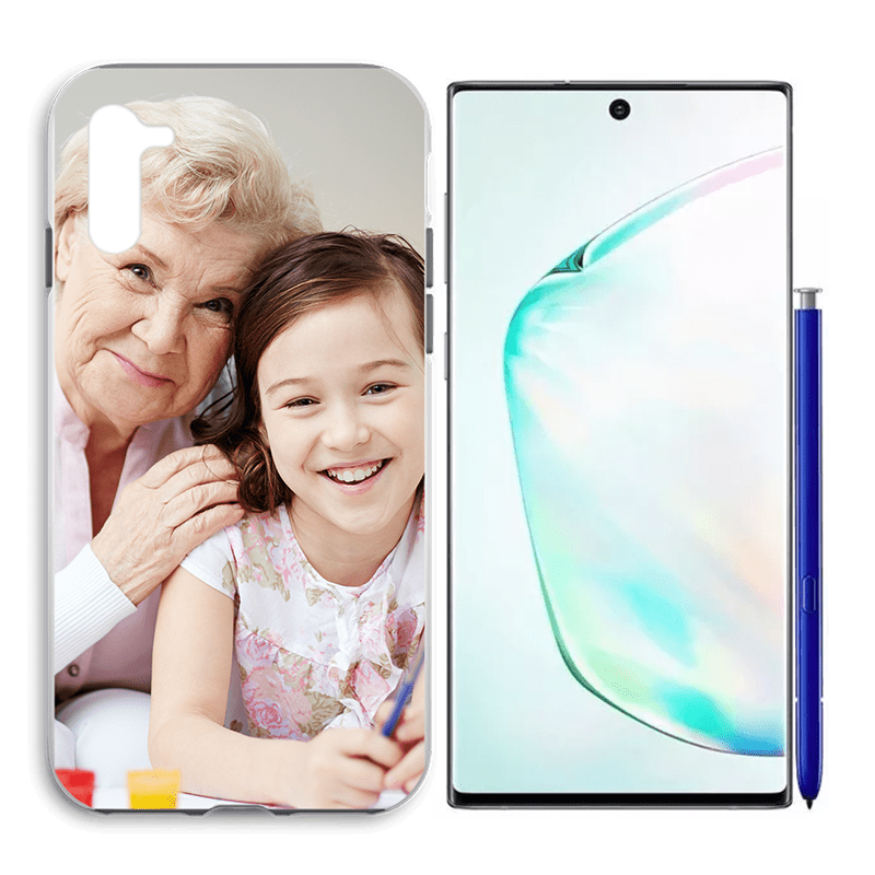 Galaxy Note 10 - Custom Liquid Silicone Hard Case | Silicone Hard Case | Galaxy Note 10 Case