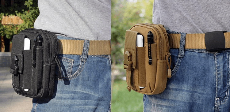Tactical waist belt bag.   Waterproof Wallet,  Phone Pouch | Tactical Belt Bag | Phone Pouch