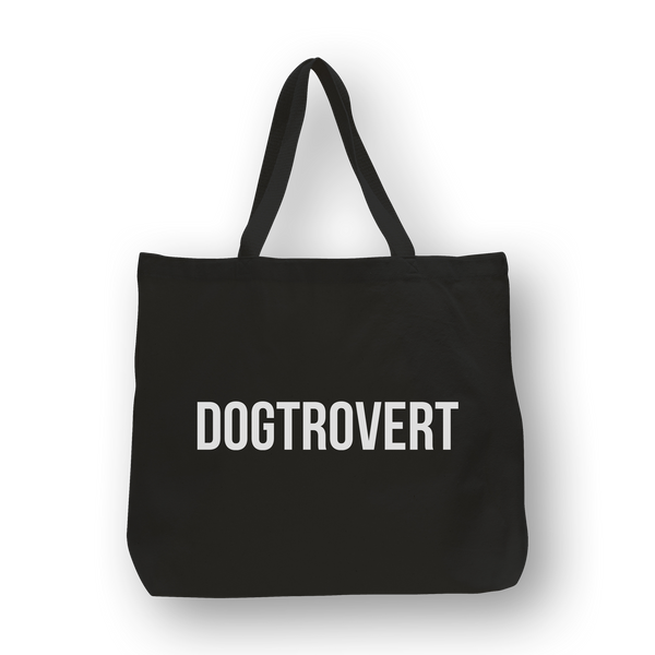 Dogtrovert /large tote
