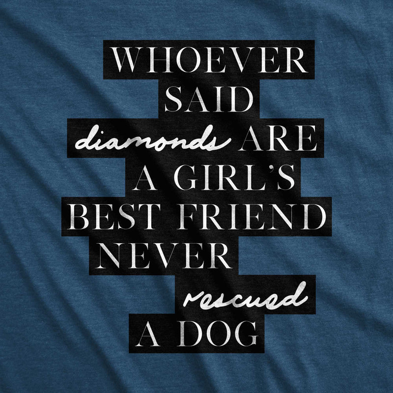 Girl's Best Friend /unisex tee