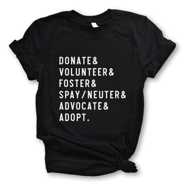 How to Rescue Dogs /unisex tee