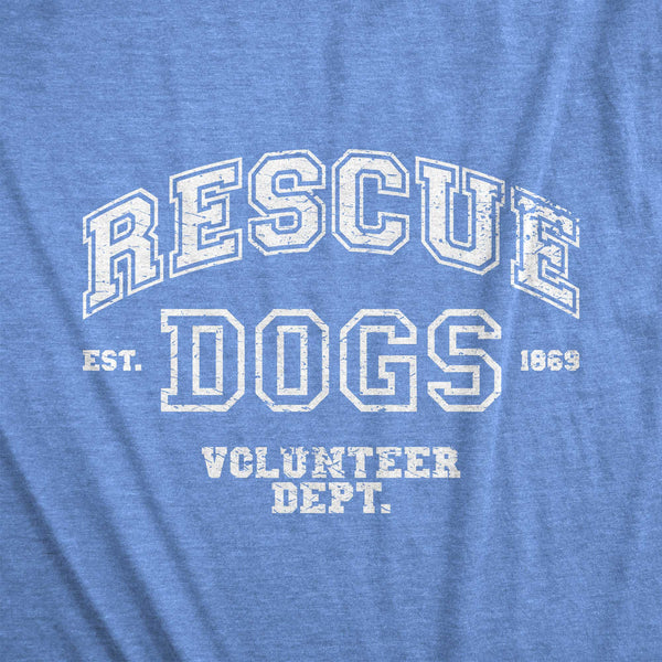 Varsity Rescue Volunteer Dept. /unisex tee
