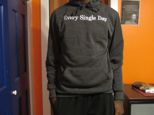 2 Shades of Gray Hooded Sweatshirt