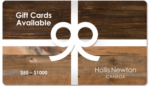 Hollis Newton Gift Card