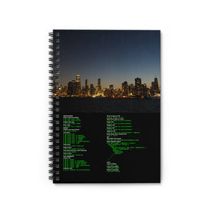 Github CLI cheat sheet - Spiral Notebook - Ruled Line