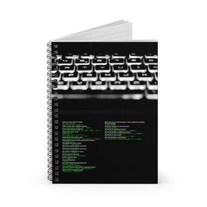 std::vector cheat sheet - Spiral Notebook - Ruled Line - Remember The API
