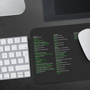 tmux cheat sheet - mousepad - Remember The API