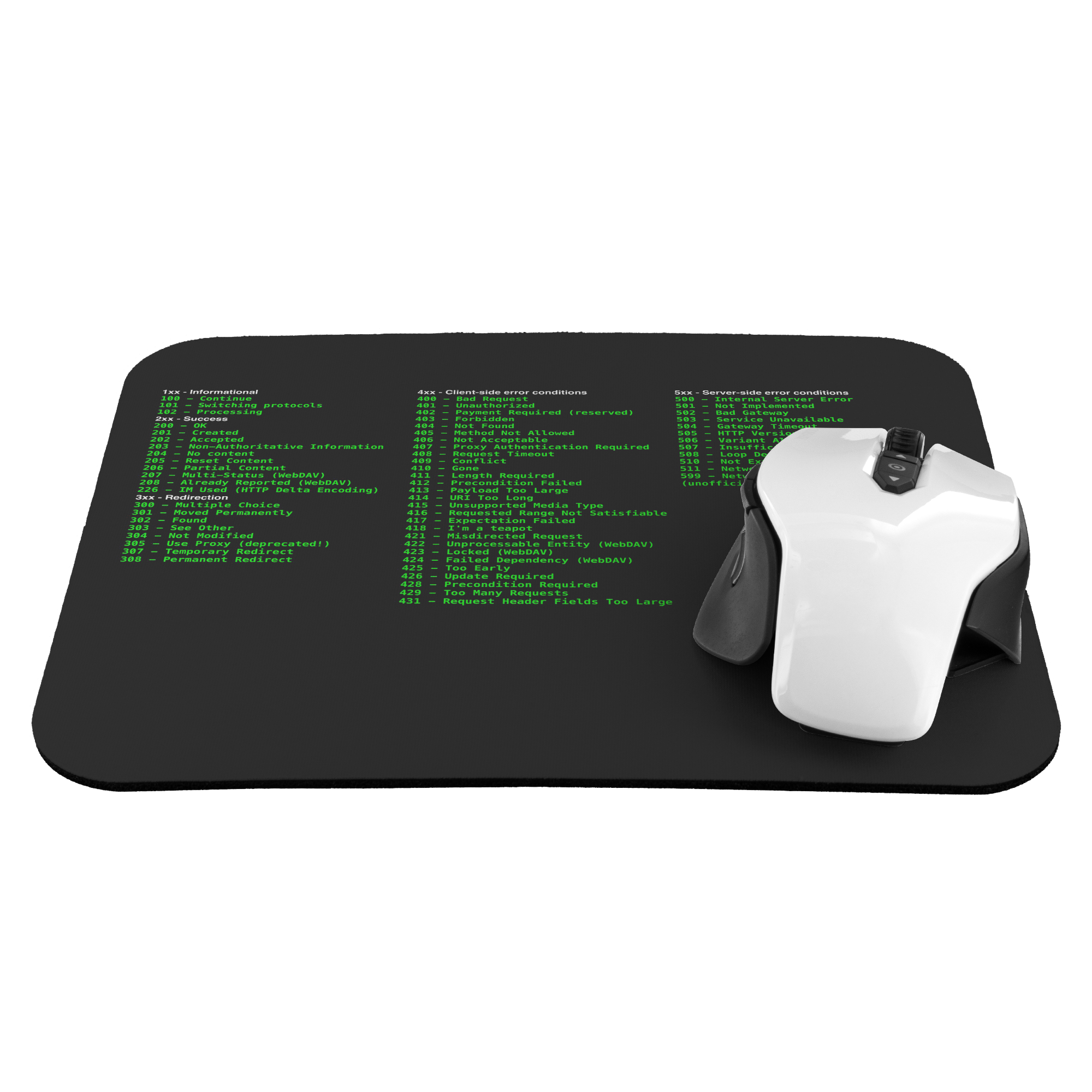 HTTP status code cheat sheet - mousepad - Remember The API