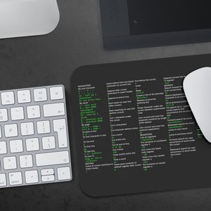 Vim cheat sheet - mousepad - Remember The API