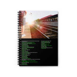 Vagrant CLI cheat sheet - Spiral Notebook - Ruled Line - Remember The API