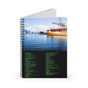 Docker CLI cheat sheet - Spiral Notebook - Ruled Line - Remember The API