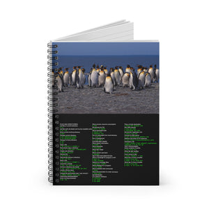 Unix/Linux command cheat sheet - Spiral Notebook - Ruled Line - Remember The API