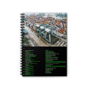 Kubernetes CLI cheat sheet - Spiral Notebook - Ruled Line - Remember The API