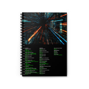 tmux cheat sheet - Spiral Notebook - Ruled Line - Remember The API