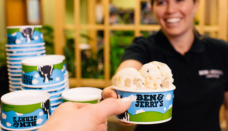 Ben and Jerry's Plastic Straw Ban