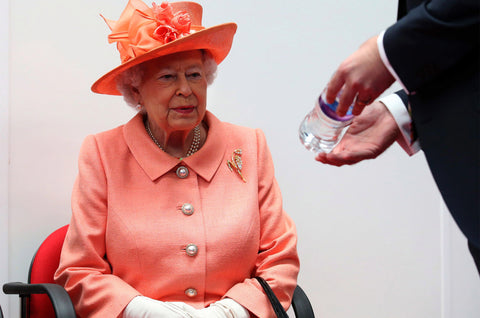 Queen of England Plastic Straw Ban