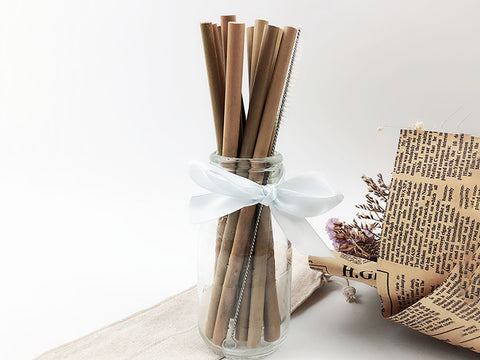 Eco-Friendly Birthday Party Supplies Bamboo Straws
