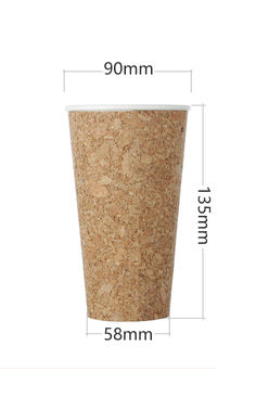 Cork Mug Cork Cup Disposable Cups Paper Cups