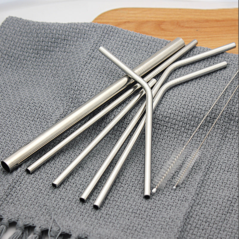 304 Stainless Steel Straws Collection