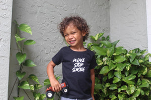 Toddler stop suicide shirts