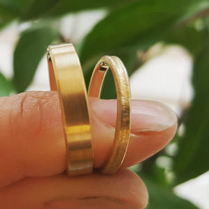 Vielsesringe / Wedding bands.