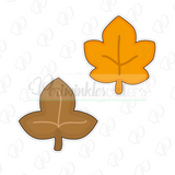 Autumn Leaves Cookie Cutter - Periwinkles Cutters LLC