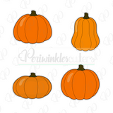 Fall Pumpkins 2018 Cookie Cutter - Periwinkles Cutters LLC