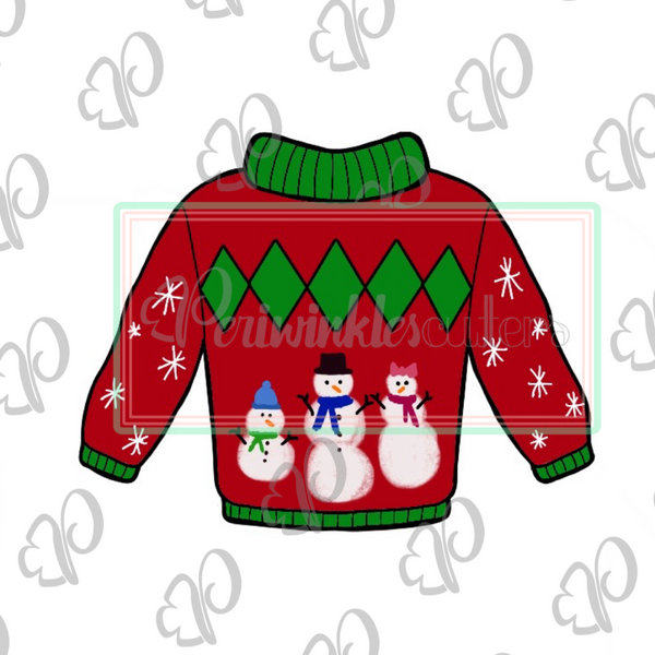 Ugly Sweater - Periwinkles Cutters LLC