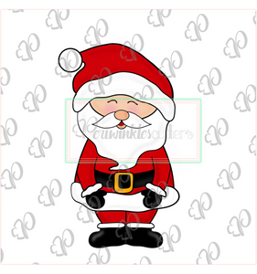 Santa Claus Full Body - Periwinkles Cutters LLC