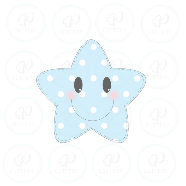 Pillow Star Cookie Cutter
